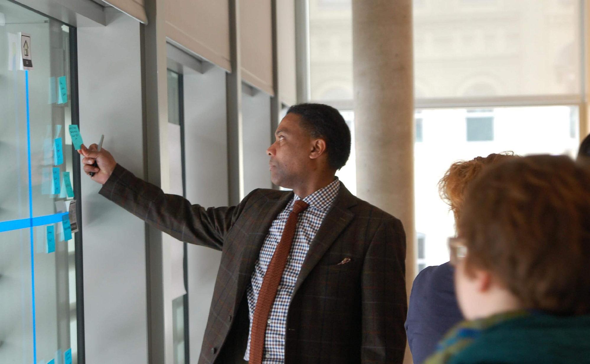 Customer Brainstorming at the GRAM (Grand Rapids Art Museum)