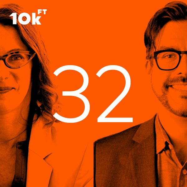 10k Feet Podcast Episode 32 Advocating for Design With Lisa Helminiak