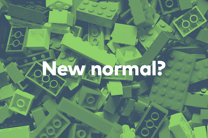 Feature Image of New Normal With a Question Mark