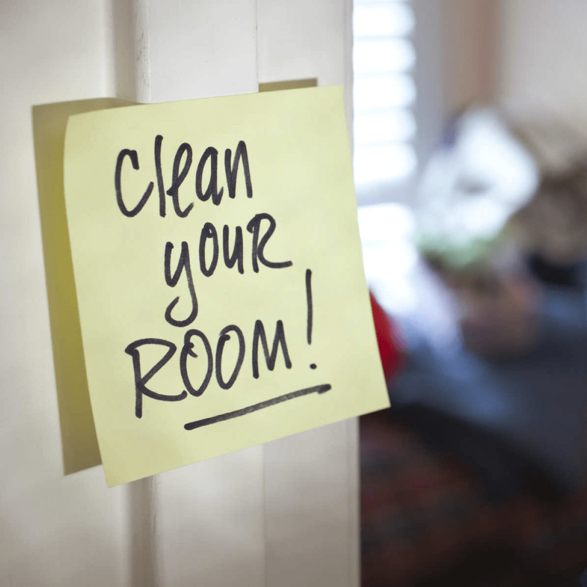 Clean Your Room Note
