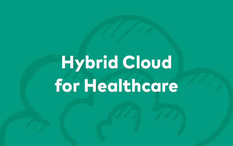 Hybrid Cloud for Healthcare Image