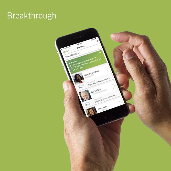 Breakthrough, UI/UX