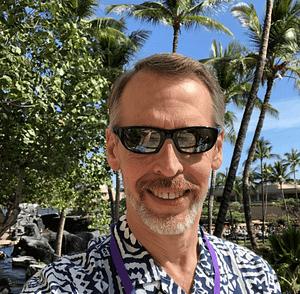 Jim VanderyMey, CIO at OST, in Hawaii